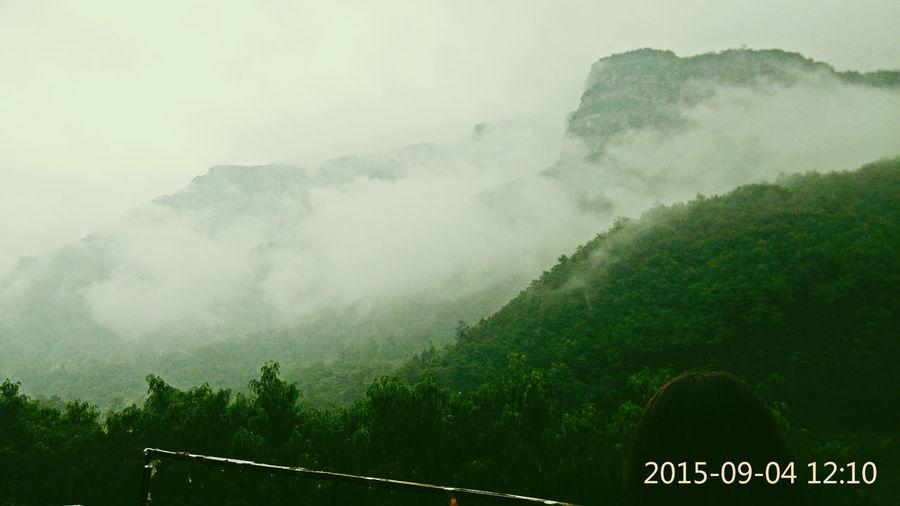 山间仙气 Tree Cloud - Sky Nature Fog Mountain Landscape Outdoors Sky Nature Beauty In Nature Day Rural Scene No People