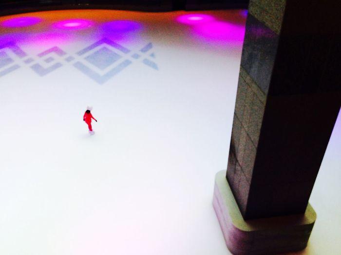 Ice Skating Enjoying Life Shopping Mall Keeping My Eye On You Ice