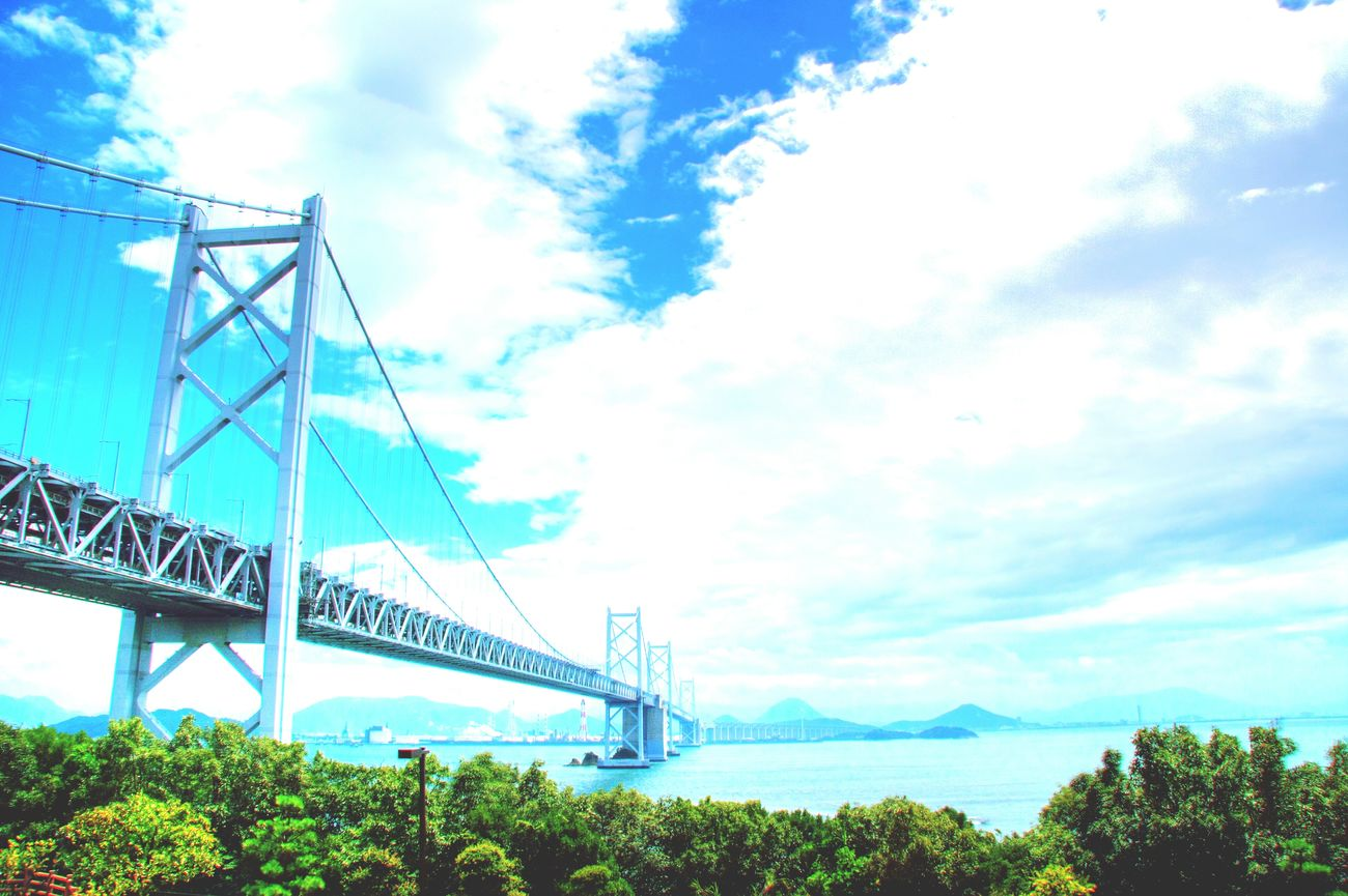 Setouchi Sea 瀬戸大橋 Seto-ohashi Sea