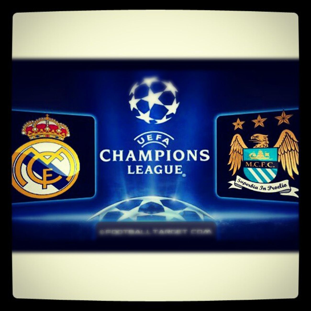 ¡Real Madrid VS Manchester City! Let's go city!!! ManchesterCity KunAguero Fuckmadrid Uefachampionsleague