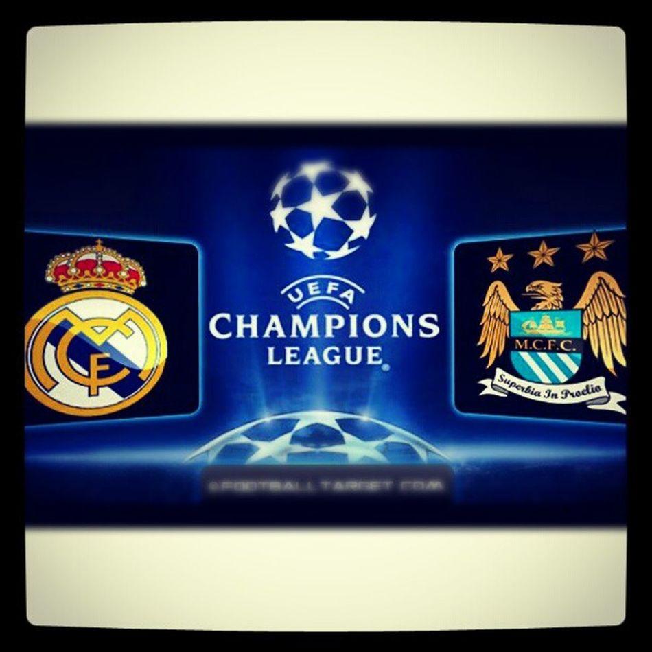¡Real Madrid VS Manchester City! Let's go city!!! ManchesterCity KunAguero Fuckmadrid Uefachampionsleague
