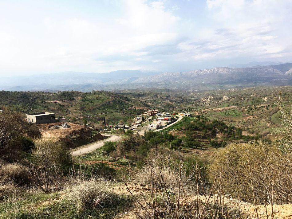 Kurdistan Nature Kuvlê Mountain Village Village View Iphone6s