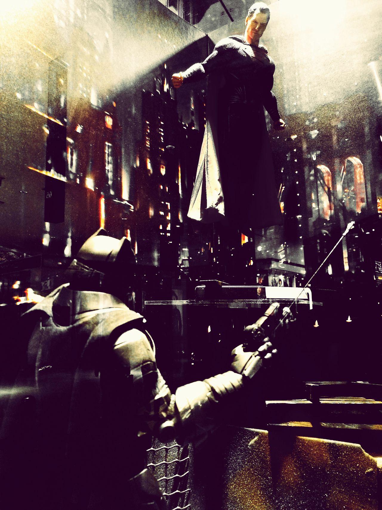 The Epic Battle Dccomics DcCollectibles Batman Batmanvsuperman Fight First Eyeem Photo