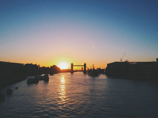 Good Morning London Sunrise