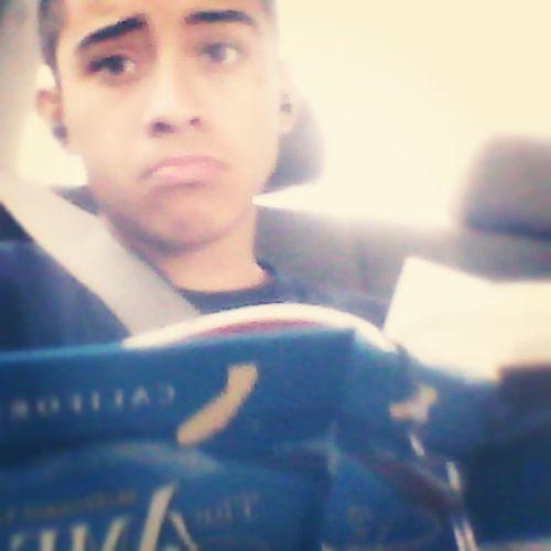 On the road doing homework  Sunday Schoolflow  HomeworkOnASunday Waaah