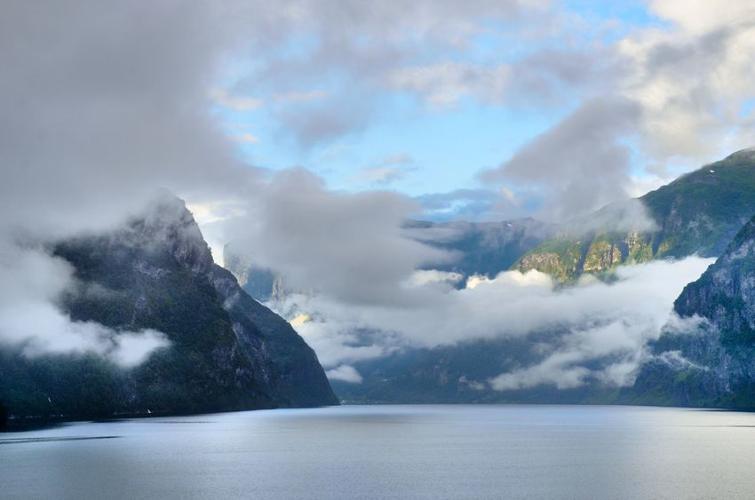 Norway Scandinavia Beauty In Nature Fjords Mountain Nature Outdoors Scenics Tranquil Scene Water Waterfront