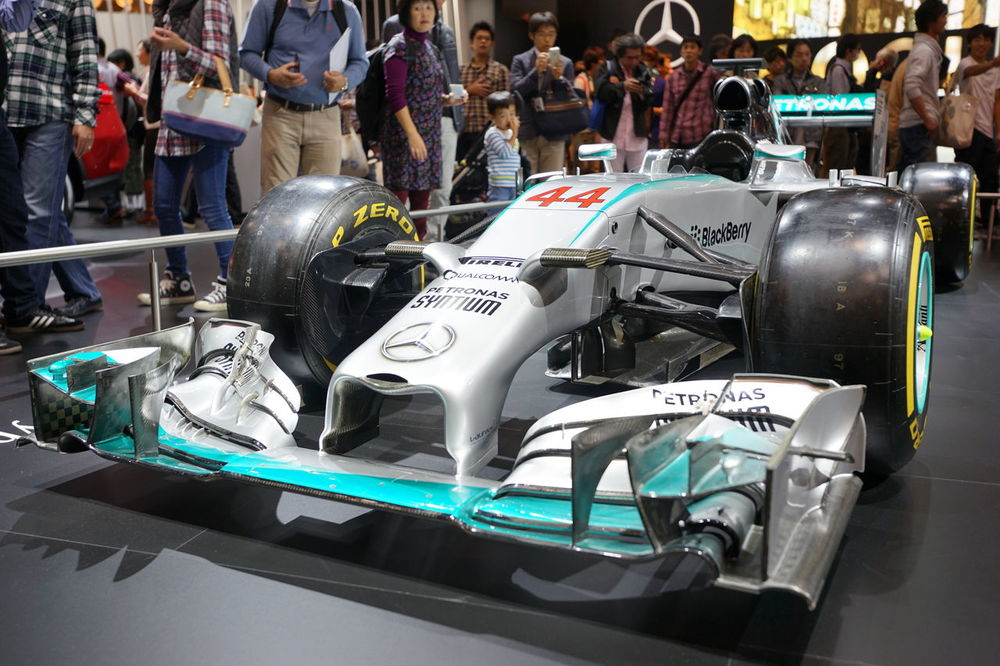 Mercedes F-1 Formula 1 Racing Car Car Snapshot Formula Car Taking Photos Tokyo Motor Show 2015 Enjoying Life
