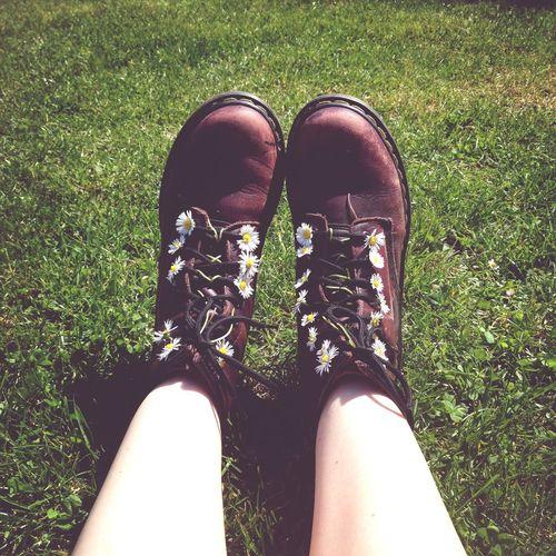 Drmartens Flower Park Shoes