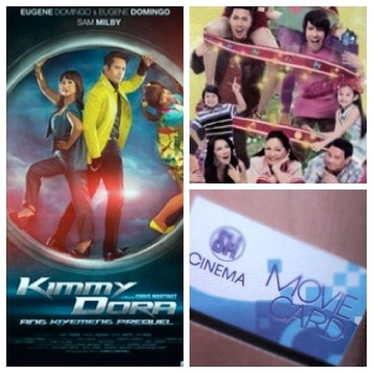 Movie time Girlboybaklatomboy and KimmyDora MMFF
