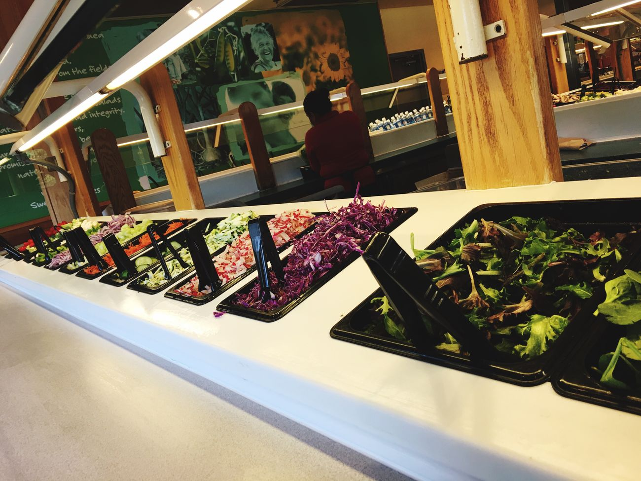 Salad Time Salad Bar Buffet Self Service Lunch Restaurant Food Restaurant Decor Restaurant