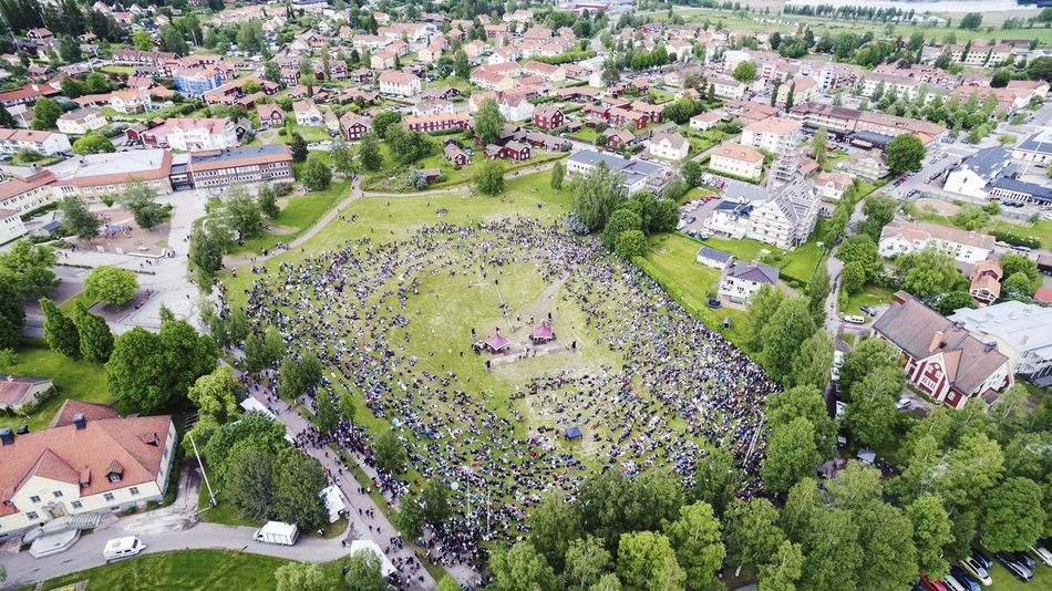 Beautiful stock photos of sweden, Architecture, Building Exterior, Built Structure, Crowd