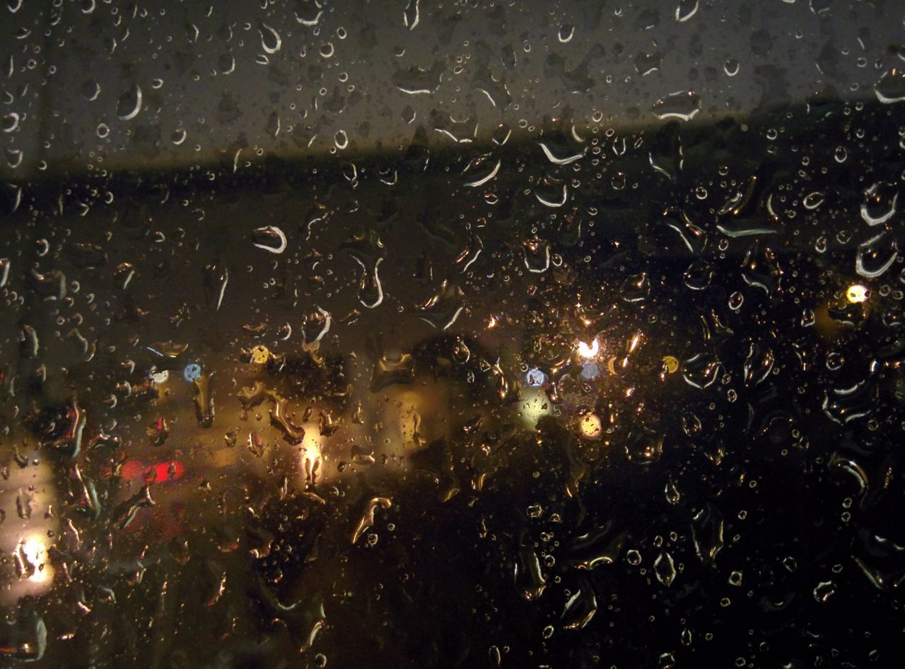 Rain drips and Drops Water Rain Storm Orlando Close-up Night No People Outdoors Nature Bratini Leonidas Rainy Night Drips And Drops