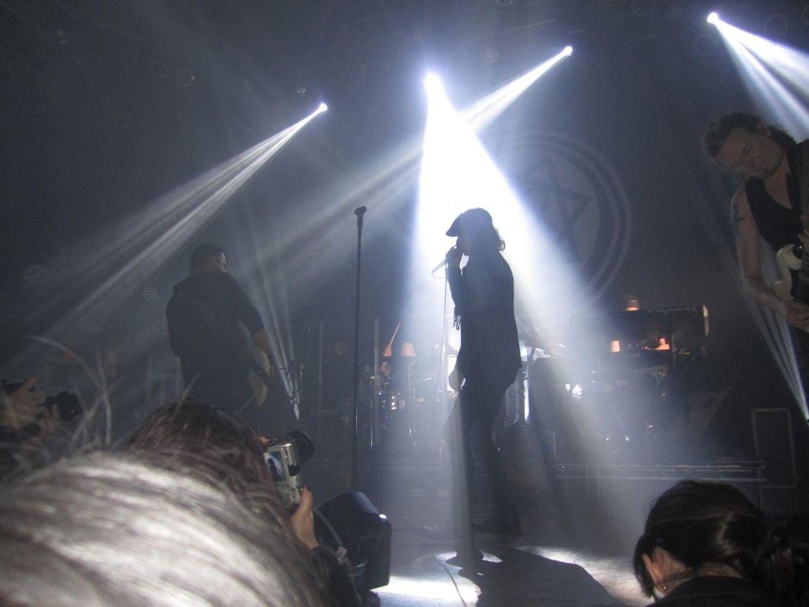 Your Art Is Portable With Caseable Ville Valo Silhouette Concert