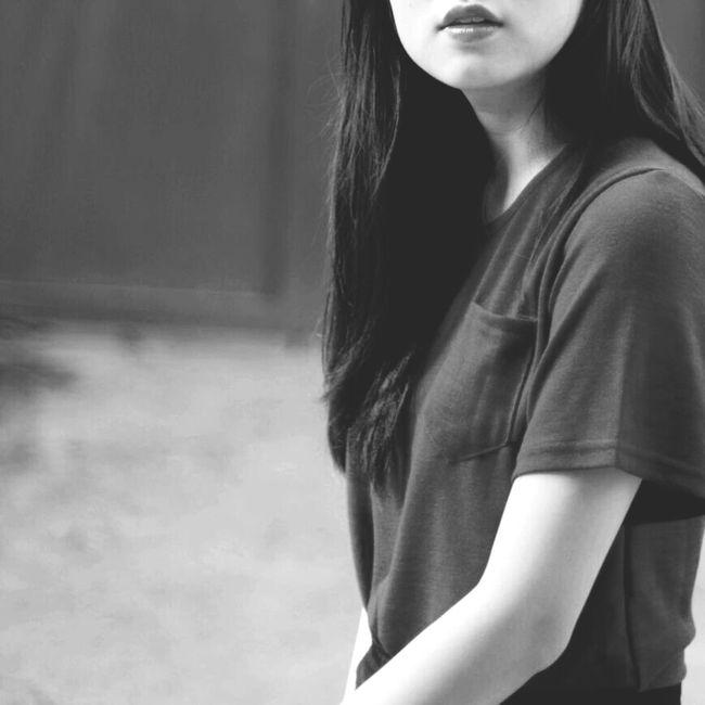 Ừ thì.... Black And White Black Oldphoto Old Me