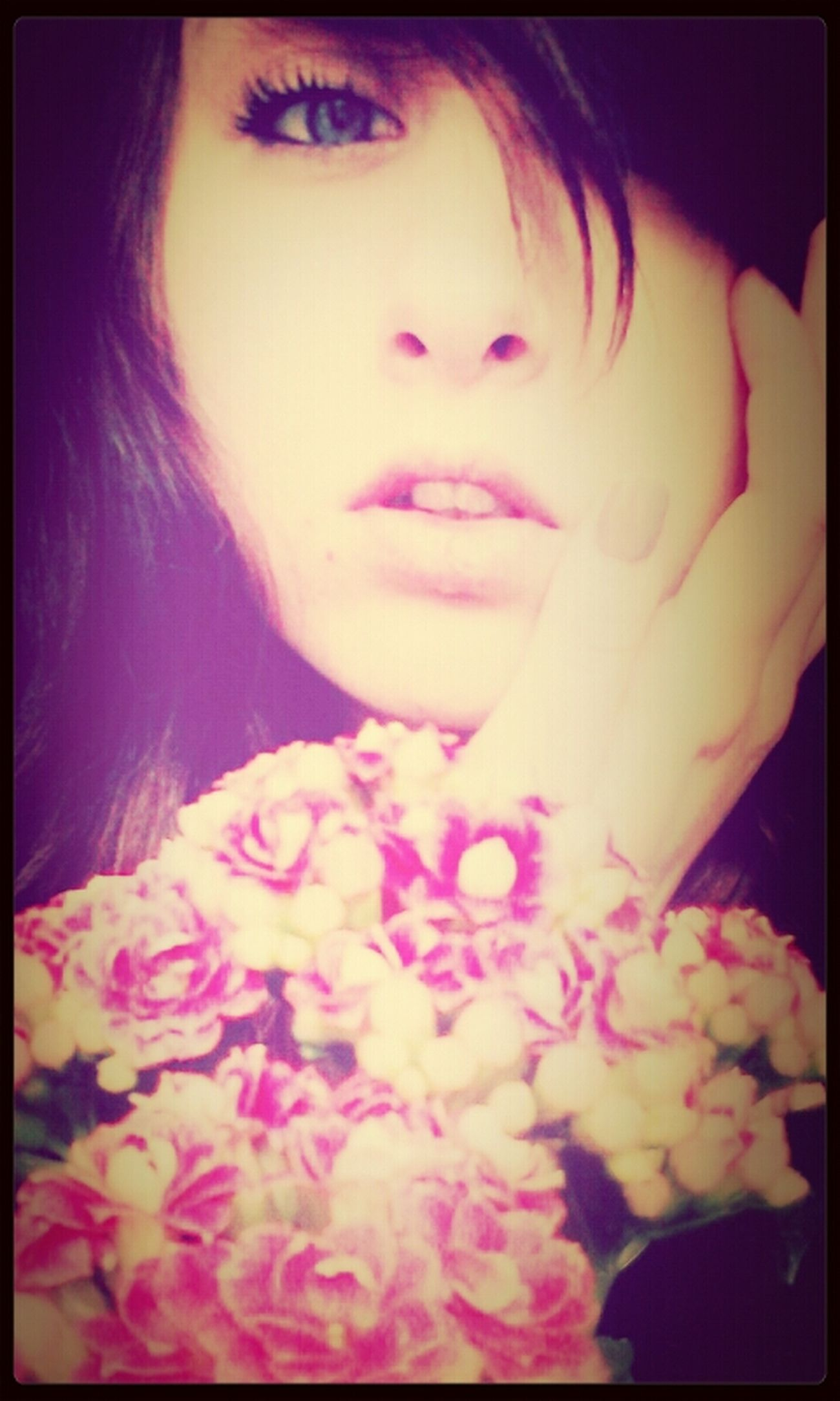 Good Times Kisses Pink Flowers Hey EyeEm 