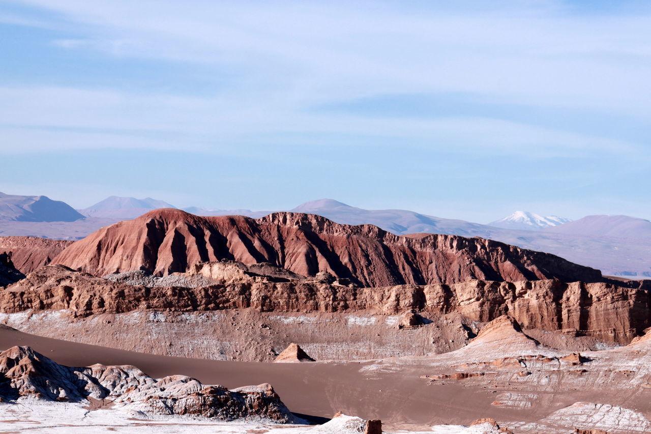Desert D'Atacama Desierto De Atacama Montagnes Paysage ... Chile ✨