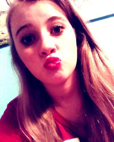 I got a kiss on my lips for my man and no one else