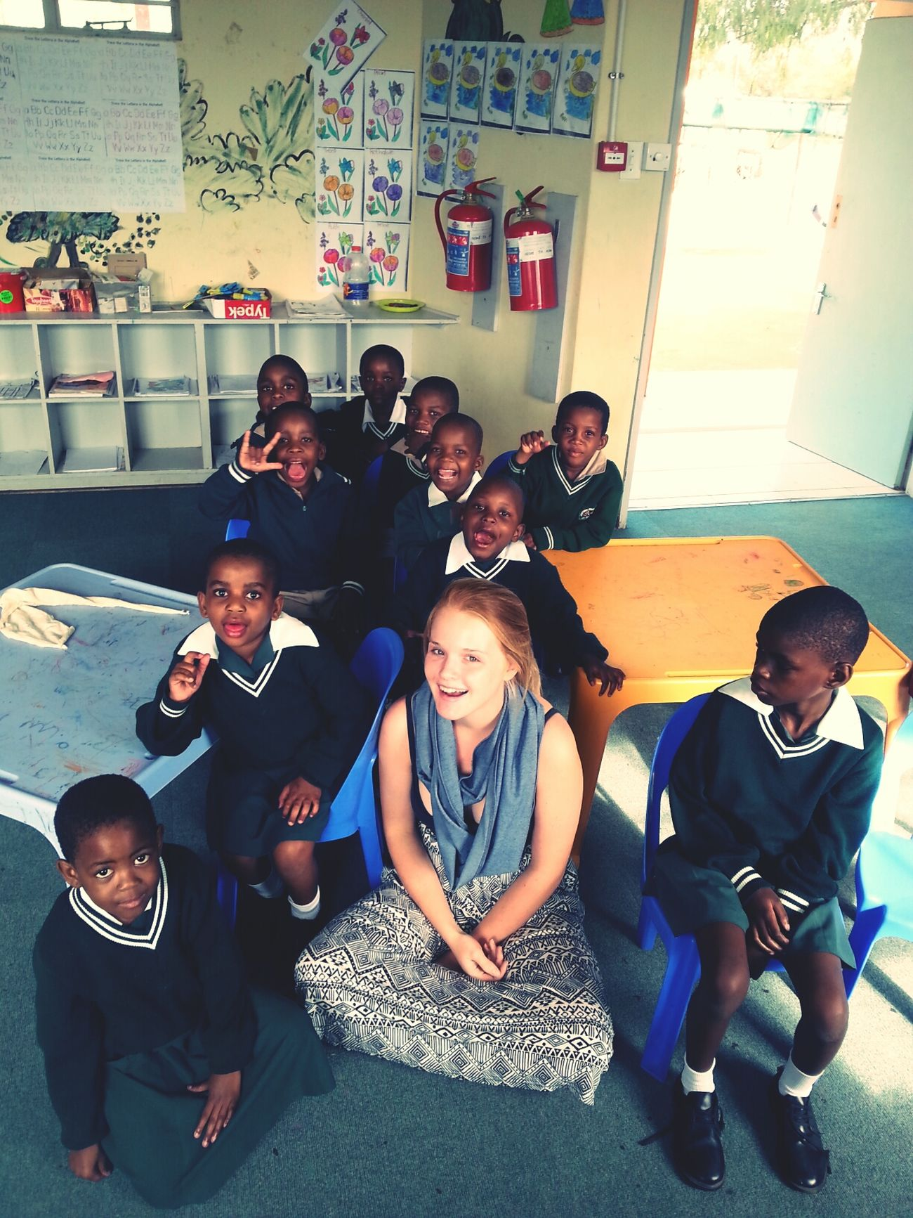 spent the day with these precious kids♡ Deaf Education Botswana Holiday Love