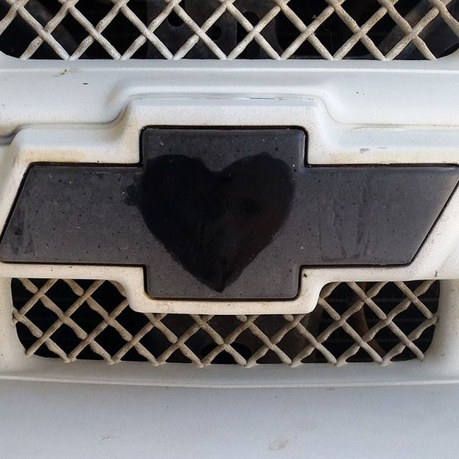 Chevy love with an off-center heart... Chevylove Heart Chevy