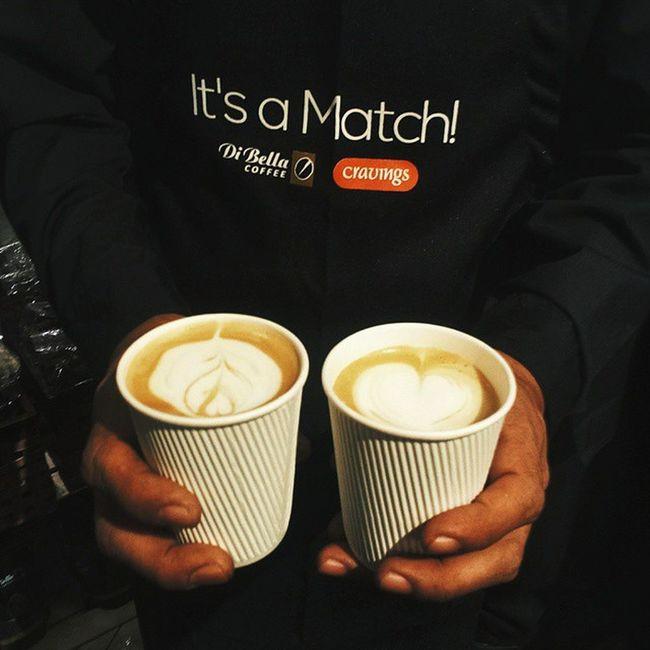 It's A Match ☕☕ Coffeeteajazzattheshang DiBellainManila