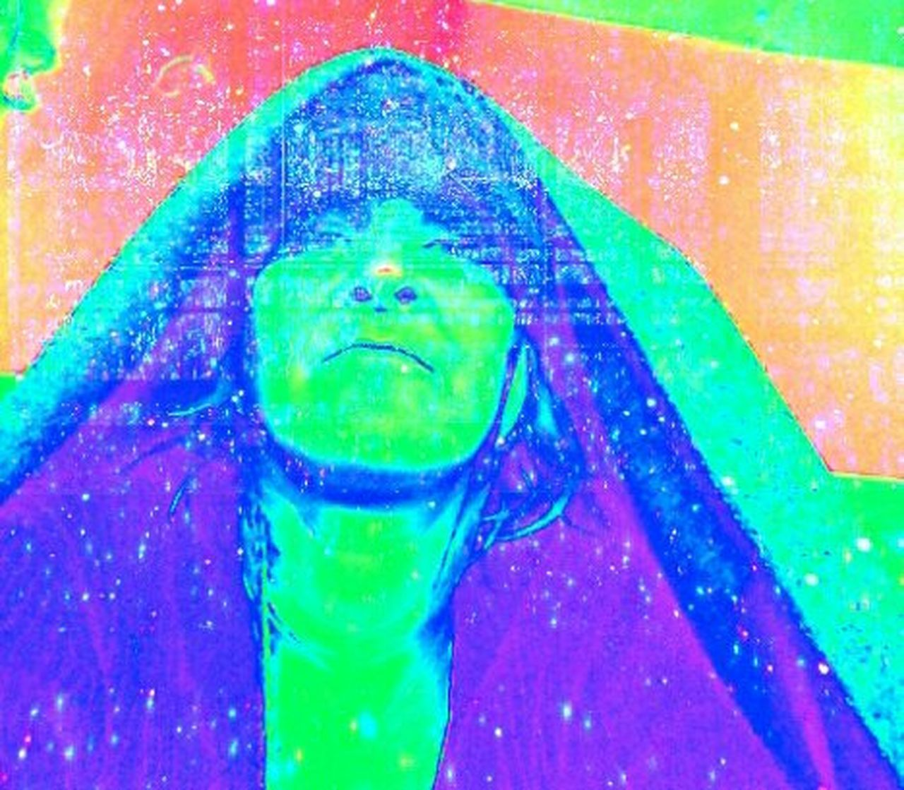 Me... .. . Blue Close-up Day Green Color Multi Colored One Person People Portrait
