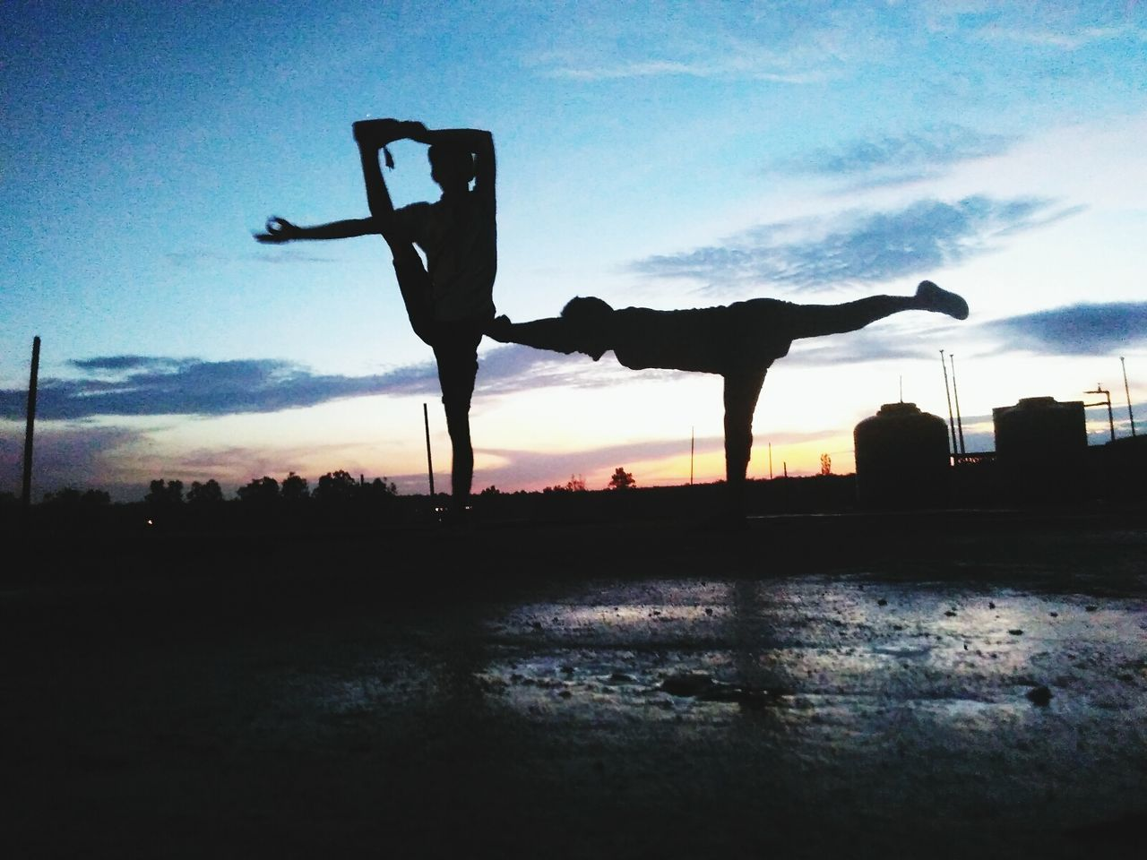 Sunset Silhouette Sky Mid-air Field Cloud Moody Sky Person Outdoors Cloud - Sky Scenics Tranquility Tranquil Scene Pedestal Yoga Yogalover Yogateacher Yogainspiration Yoga ॐ Yogachallenge Yogaeverydamnday Yoga Pose First Eyeem Photo Non-urban Scene Beauty In Nature
