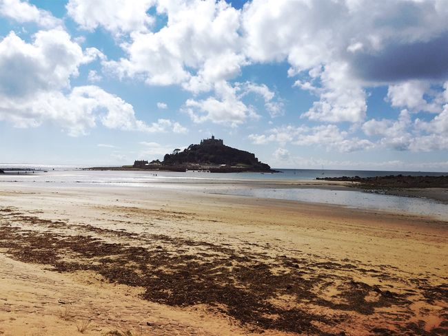 Protecting Where We Play Low Tide On The Beach Beach Photography Island Walk This Way Silhouette Landscape NEM Landscapes at St Michaels Mount