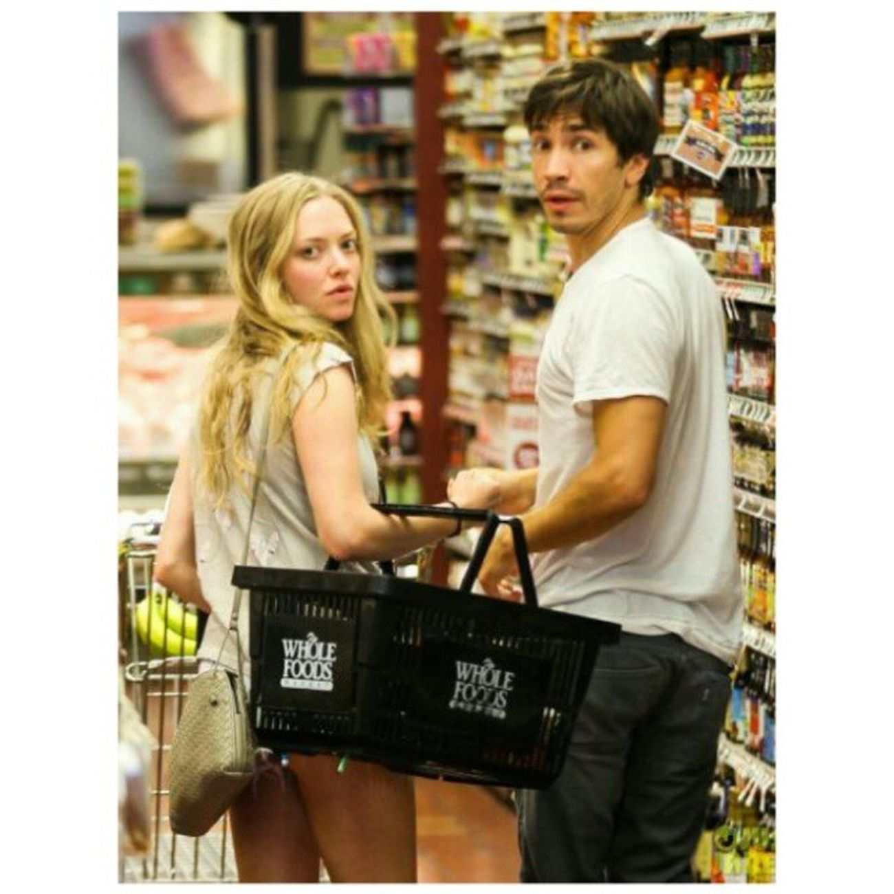 SPOTTED! AmandaSeyfried Justinlong