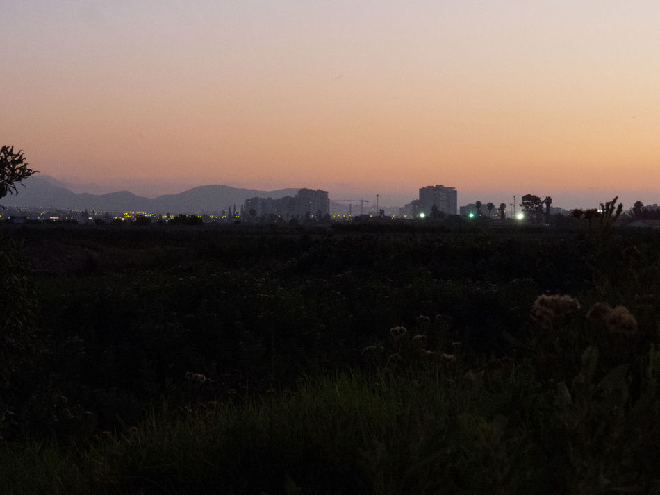 Camera: CanonPowershot SX50 Agriculture Architecture Beauty In Nature Building Exterior Chile City City Cityscape Field Growth Horizon Landscape Nature Nature No People Orange Outdoors Outside Scenics Silhouette Sky Sunset Welcome To Black