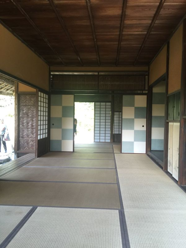 Tea Room Imperial Palace Japan Tatami April Asian