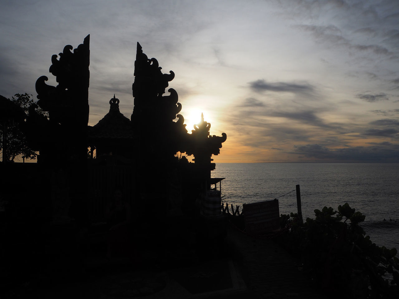 🌅Under the sun🌅 Travel Tanah Lot Bali Bali, Indonesia Art And Craft Architecture Sand Cloud - Sky Culture Dramatic Sky Exceptional Photographs EyeEmNewHere Landscapes Nature Outdoors Scenics Sea Silhouette Miles Away Still Life Sun Sunset Tadaa Community Tranquility Travel Destinations
