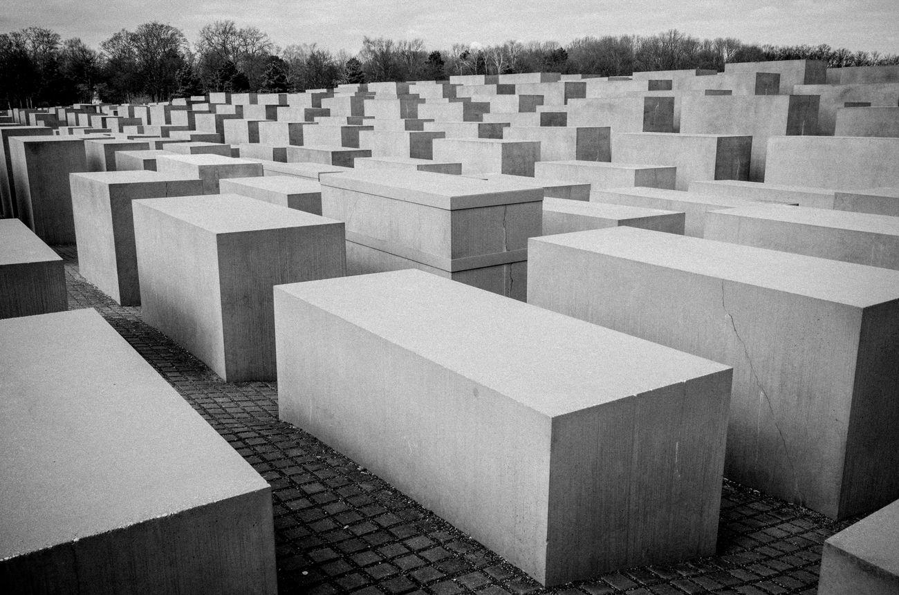 Berlin Holocaust Memorial Memorial Holocaust Memorial Rawstreets Maxgor Maxgor.com Berlin Black And White Leica X Vario Monochrome Photography Black And White Photography Germany Architecture Leica