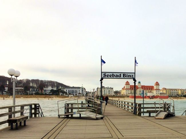 Ostseebad Binz Binz Auf Rügen Binz Rügen Sea Seaside Seascape Sea And Sky Sea View Bridge Footbridge Panorama Panoramic Panoramic View Panoramic Photography City Urban Urbanphotography Nature Nature Photography