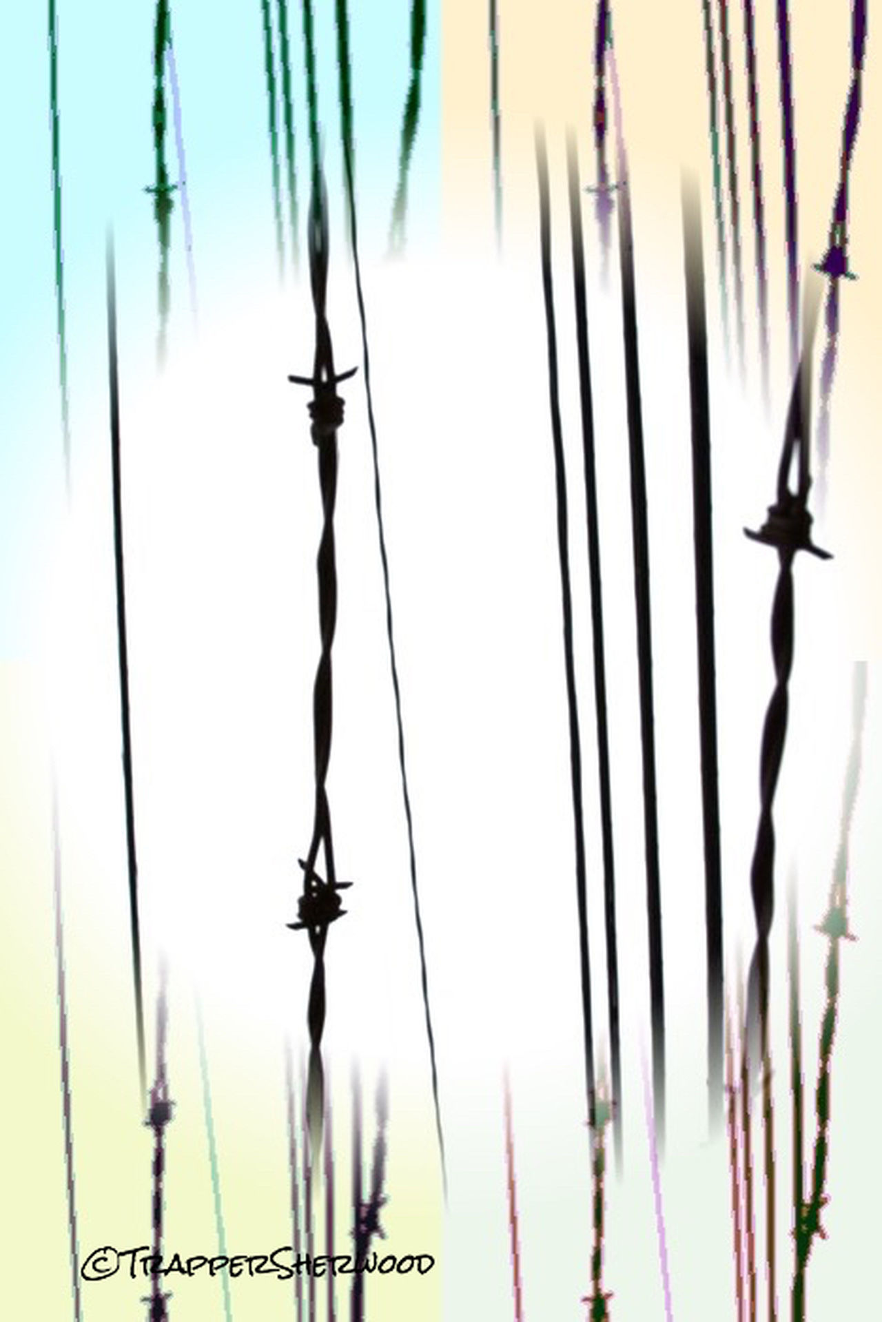 Barbed Wire Wednesday Barb Wire Power Lines Über_edit_monthly