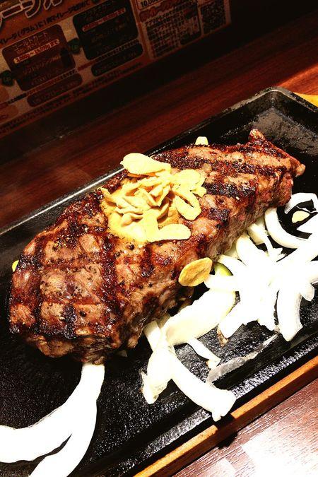 いきなりステーキ久し振りにきてみました!本日はサーロイン! OneCam Shinjuku Steaks いきなりステーキ EyeEm