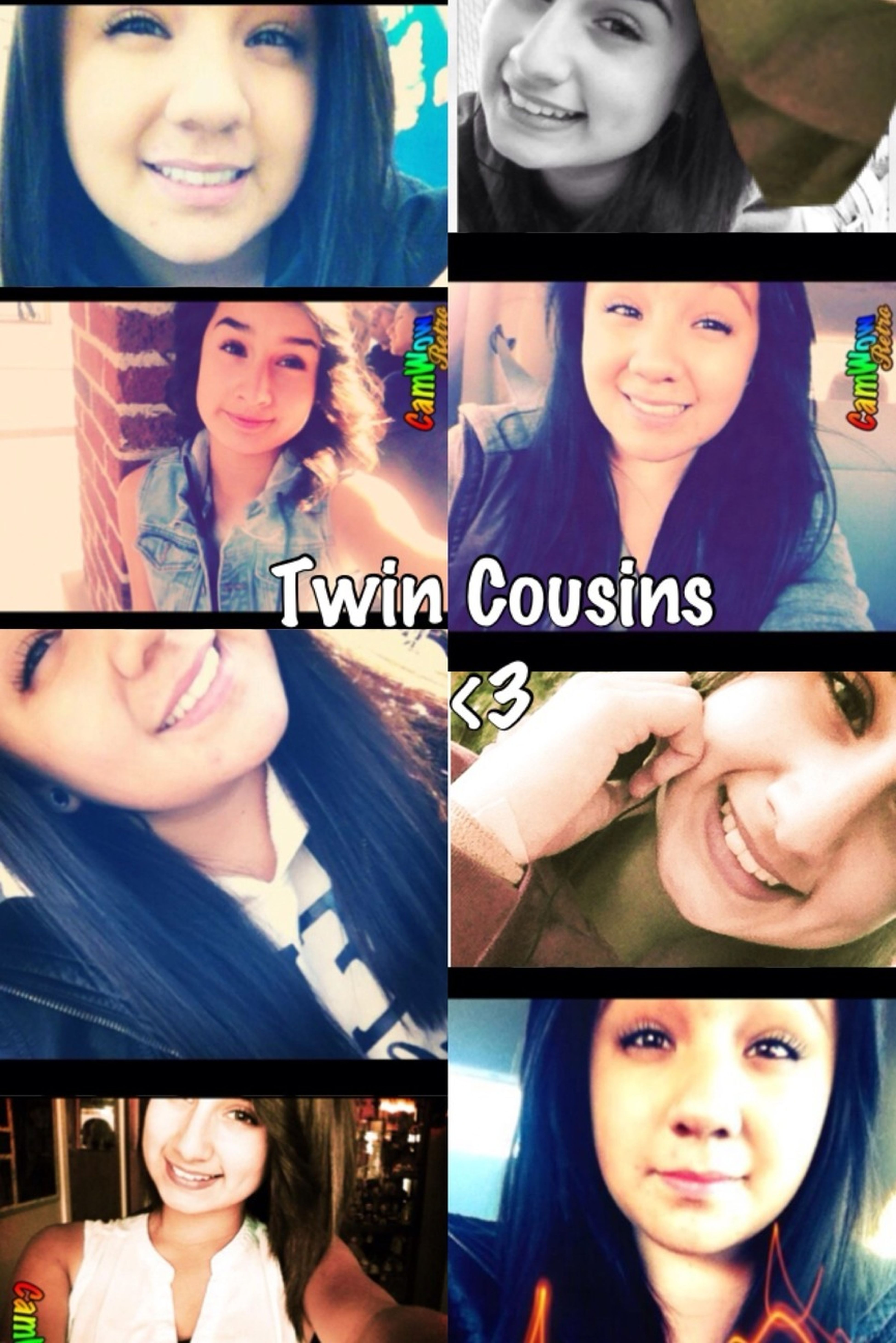 Me And My Twin Cousin <3