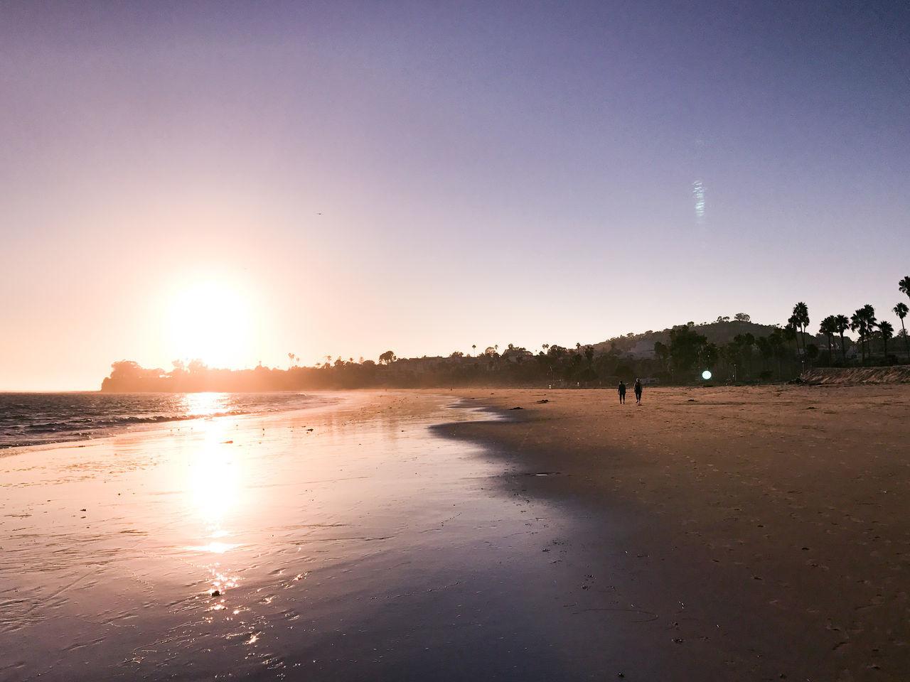 Adult Adults Only Beach Beauty In Nature Day Nature Outdoors People Sand Santa Barbara Santa Barbara, CA Sea Sky Sun Sunset