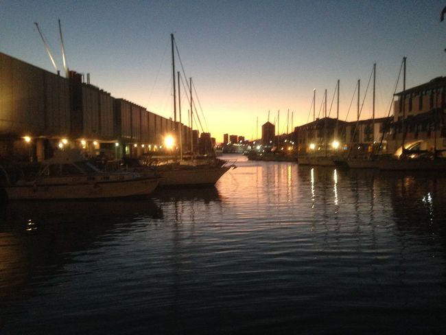 Boat Harbor Illuminated Nautical Vessel Outdoors Reflection Sailboat Sea Tranquility Water Waterfront
