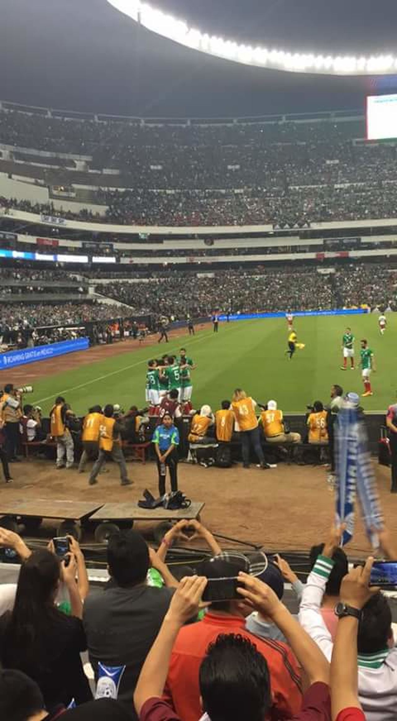 Mexico Estadioazteca Futbol Passion Seleccion Mexicana