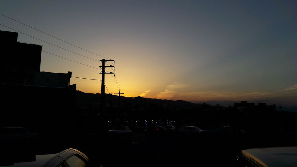 Sky Iran♥ No People Urmia City Sunset