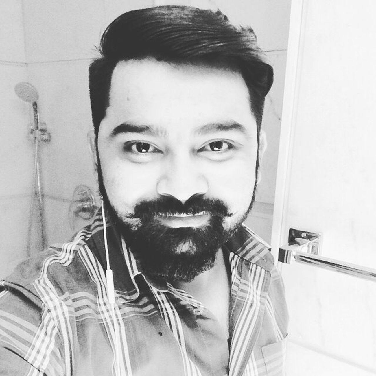 Beard Love Mustacheman New Haircut Delhi Iphone5s Selfieee Instapic