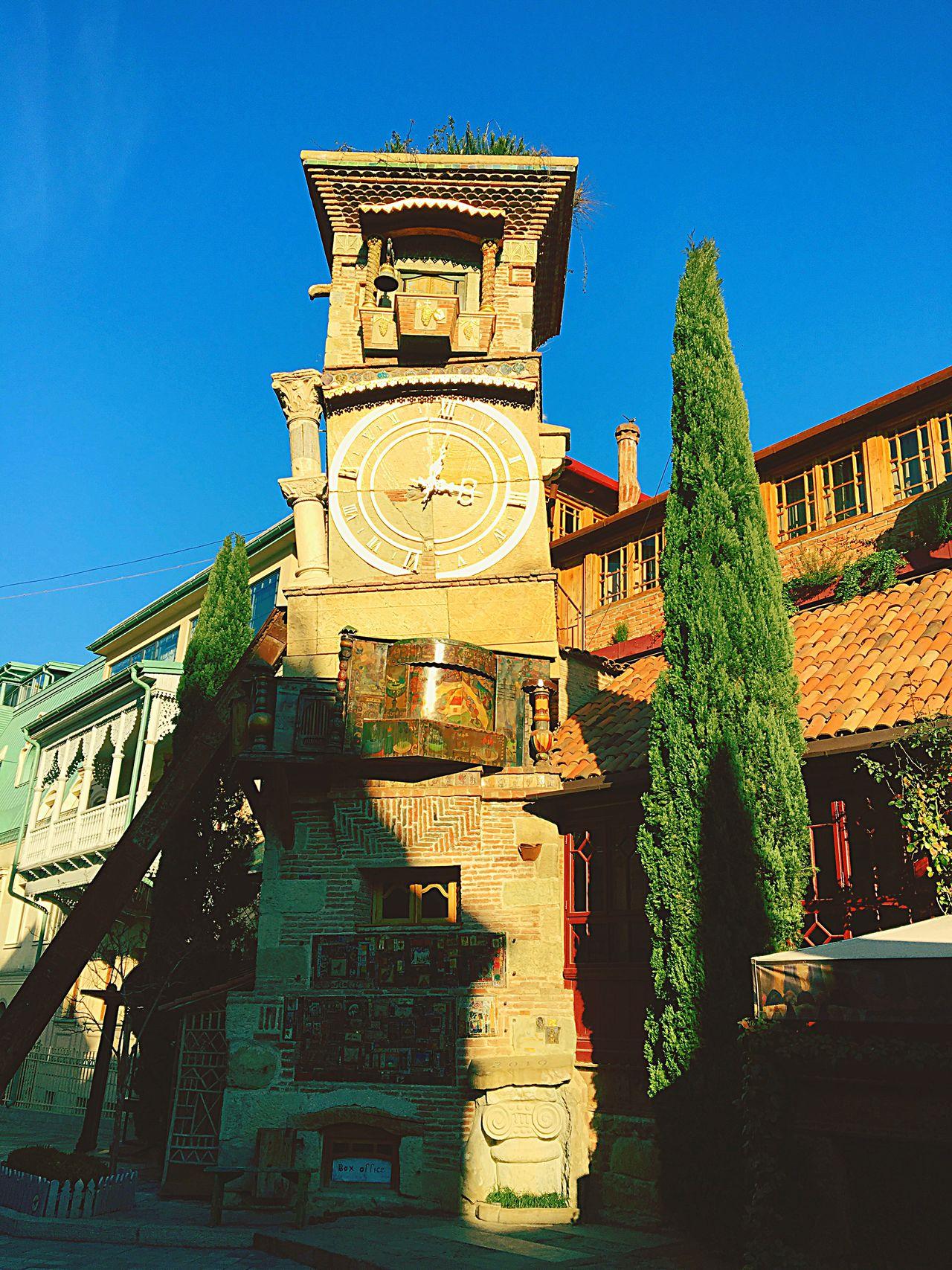 Favourite place in Tbilisi Architecture Gabriadze Georgia Tbilisi Theatre Marionette Puppet