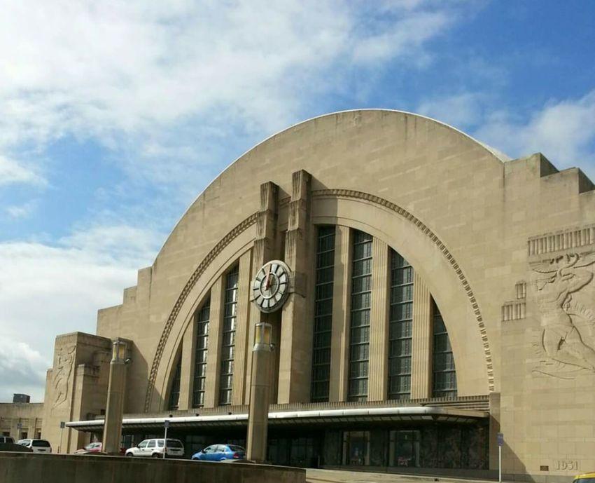 Cincinnati Union Terminal Cincinnati Museum Architecture Historical Building Train Station Ohio, USA