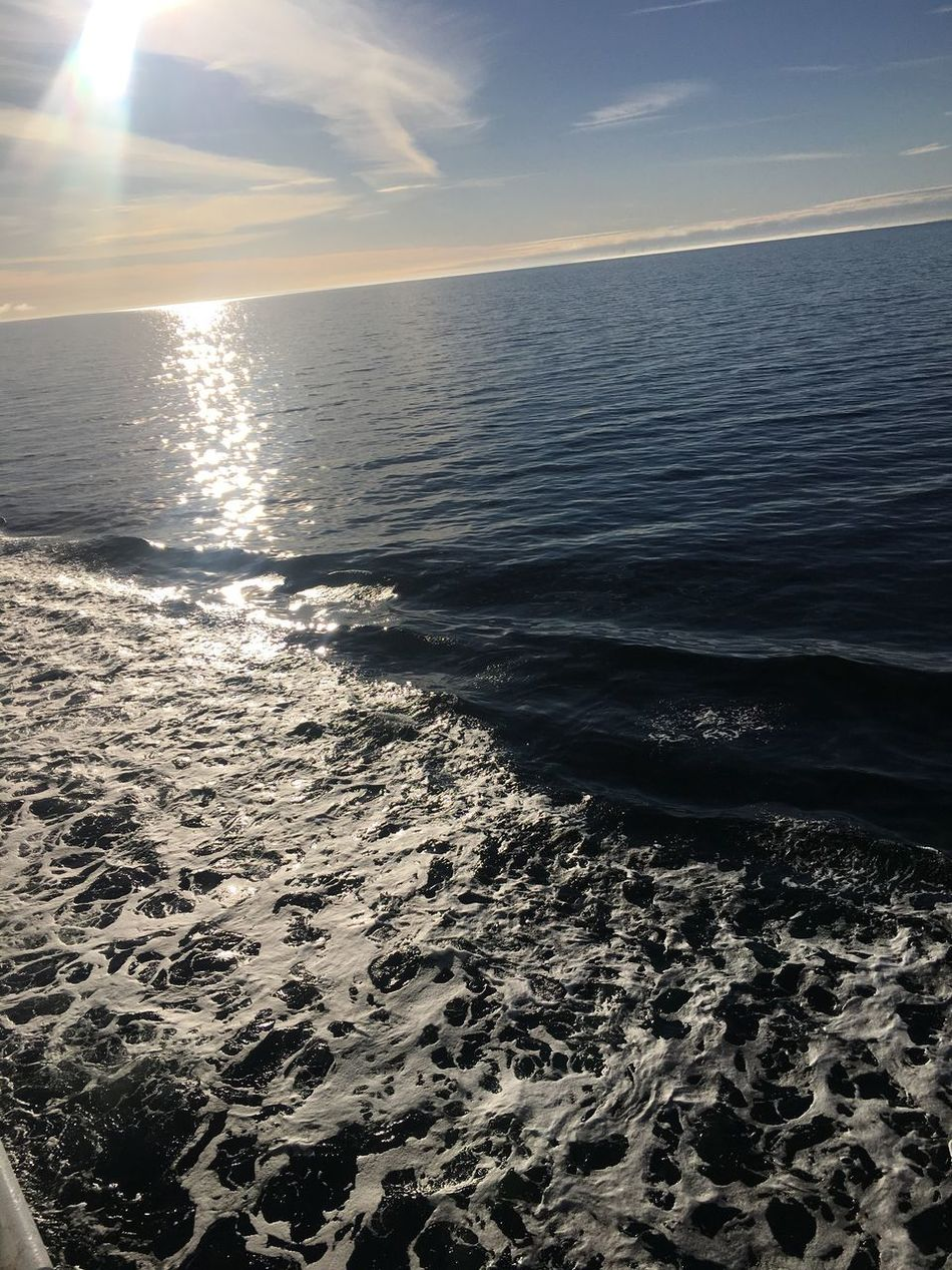 Sea Beauty In Nature Nature Water Horizon Over Water Sunlight Scenics No People Sky Tranquility Outdoors Tranquil Scene Day Water_collection Water Reflections Waterfront Gulf Of Finland Baltic Sea Balticsea