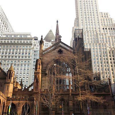 Nycprimeshot Nyclovesnyc Icapture_nyc NYC Manhattan Trinitychurch