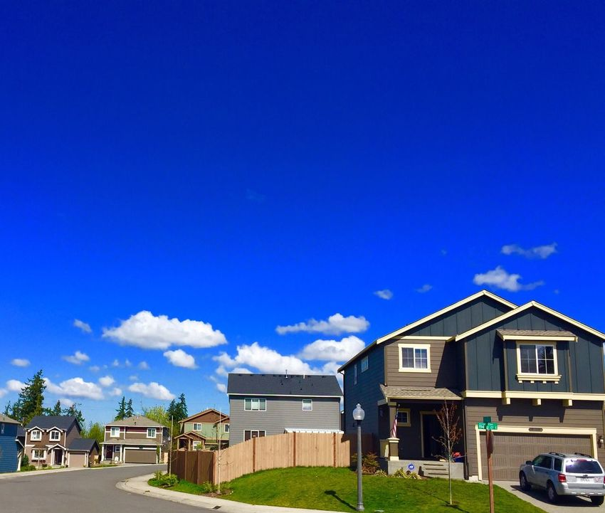 Wow what a beautiful day ! Blue Blue Sky Clouds Clouds And Sky Beautiful Sunny Sunny Day