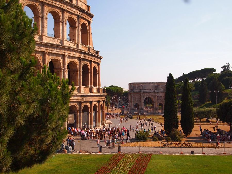 Roma Colosseo Sun Holiday Italy Beautiful Fromromewithlovee