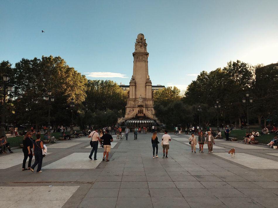 Plaza de España. Septiembre 2016 Iphone7
