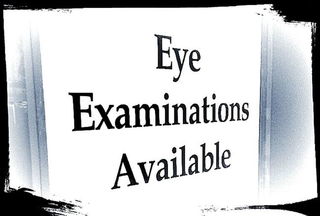 Sign Signporn Eye Examinations Signstalkers Eye Test Vision I Can't See You!!!! Poor Eyesight Eyesight Blurred Vision