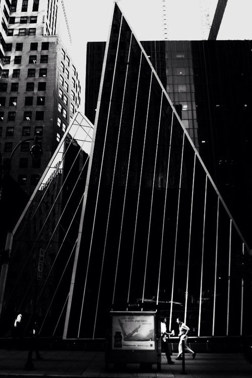 blackandwhite at East 59th Street,NYC by Waveform